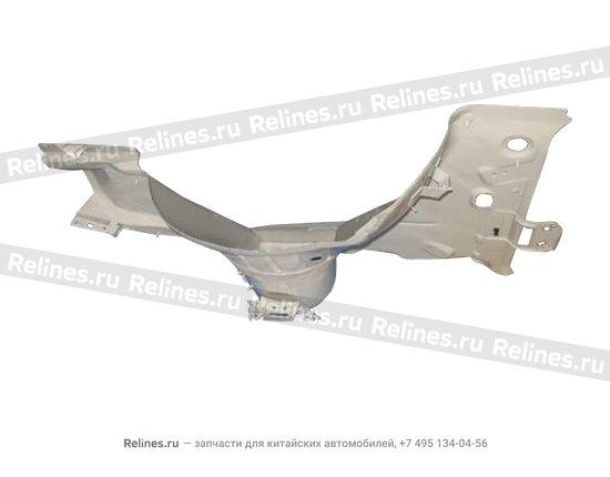 Panel L wheel apron - A15-8403300BL-DY