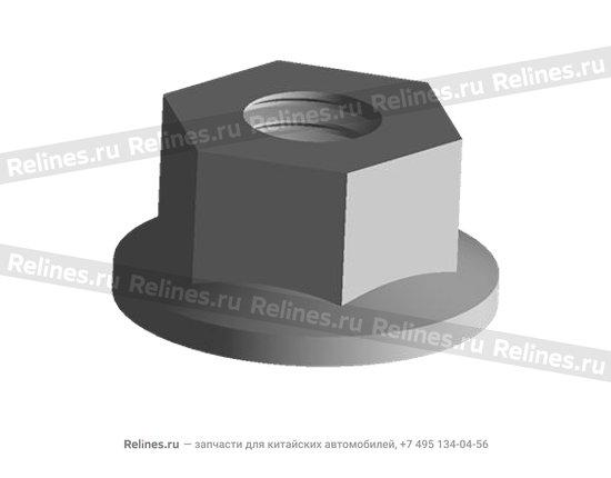 Nut - lock (hexagon) - 480-1010022