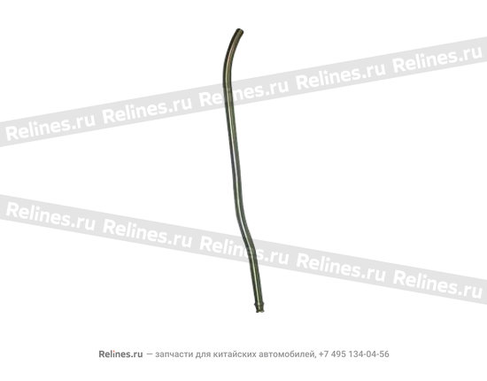 Left guy rope guide conduit