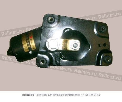 Мотор стеклоочистителя (с редуктором) (прямоугольная фишка) - 5205100-K00