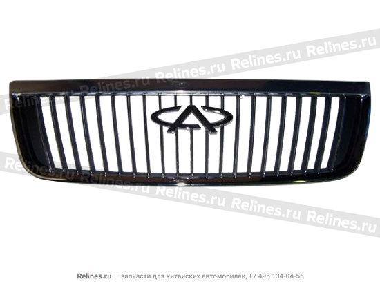 Решетка радиатора с эмблемой хромированная - A15-8401505BA