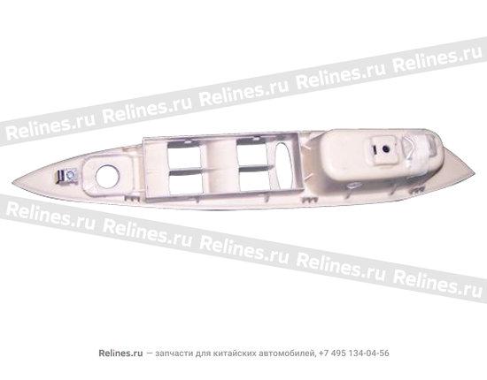 Cover - FR dr arm rest LH - A15-3746031