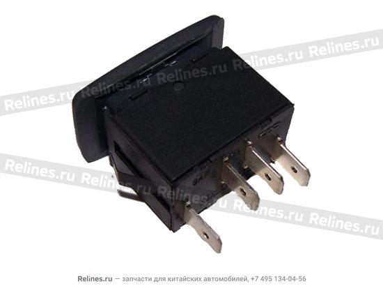 Main switch - window regulator