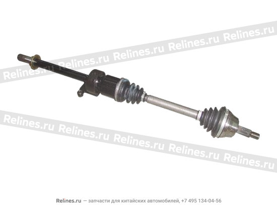 Drive shaft assy - RH with md support - A11-2203030CV