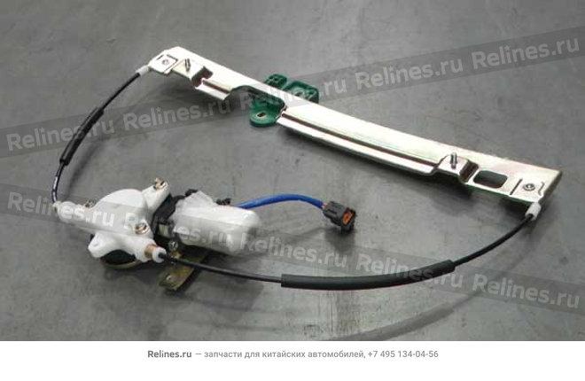Стеклоподъемник двери передней левой электрический - A11-6104110BA