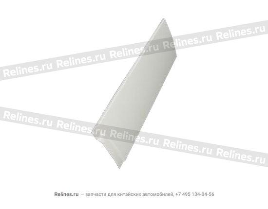 Обшивка двери передней левой металлическая - A15-6101010-DQ