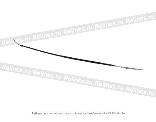 Трос стояночного тормоза (правый/левый)