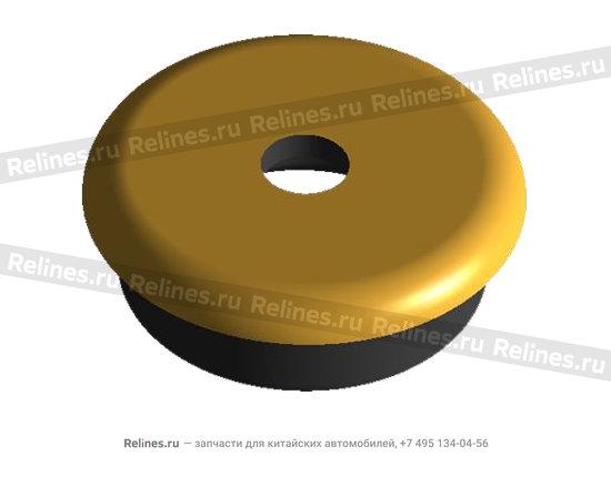 Condenser rubber gasket