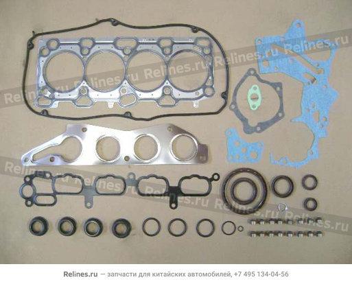 Комплект прокладок и РТИ двигателя (полный, 4G63) - SMW289090