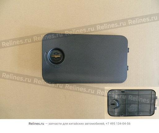 Крышка вещевого ящика внутренней панели багажника левая (черная) - 5402552-K00-0804