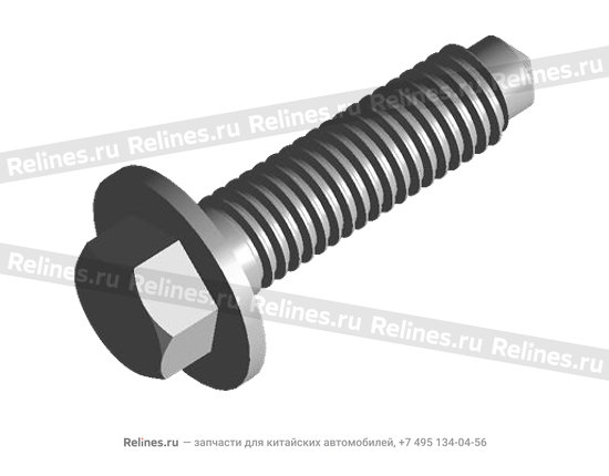 Bolt - lock (idle wheel shaft) - 015311517aa