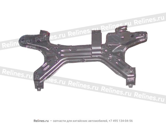 Secondary chassis weldment assy