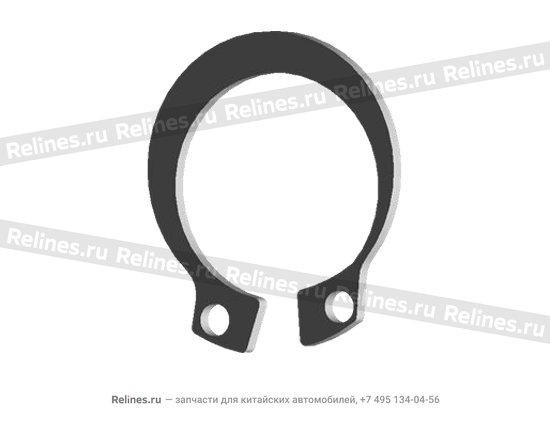 Кольцо стопорное круглого сеченияф1х14 - q43115