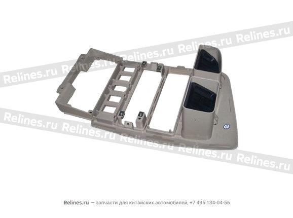 Консоль центральная пластик крем - A15-5305310BC