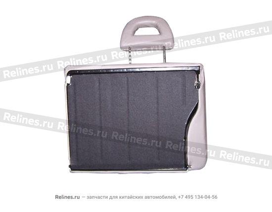 Backrest cushion assy - RR row RH - A15-7005020BT