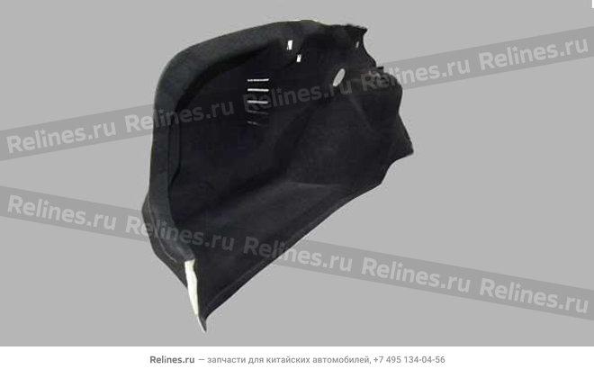 Обшивка багажника левая (черная) - A11-5101010