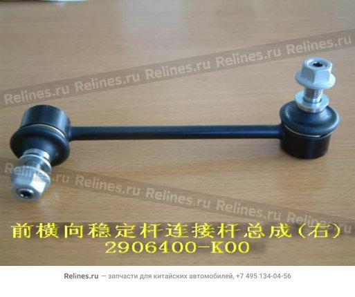 Стойка стабилизатора передней подвески правая - 2906400-K00