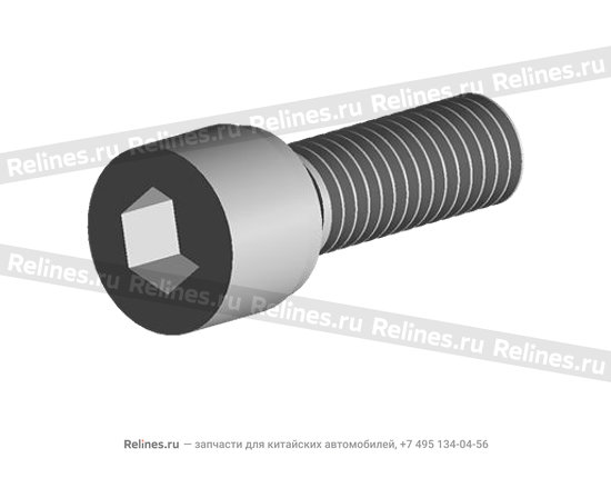 Screw - inner hexagon with spring washer - 480-1010026
