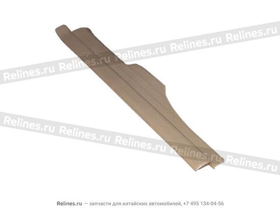 Накладка порога задняя левая бежевая - A15-5101050BC