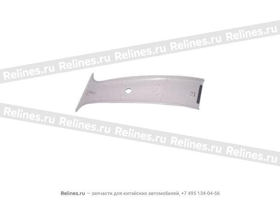 Trim board - b pillar RH UPR