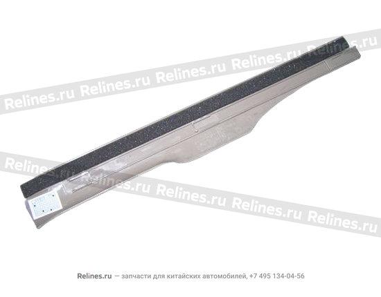 Накладка порога задняя правая темно-серая - A15-5101060BD