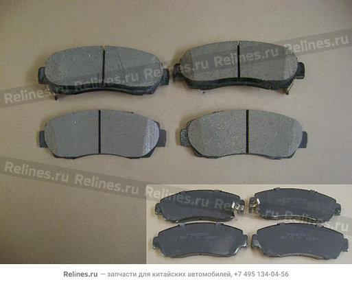 Колодки тормозные передние (дизель) - 3501120XK02XA