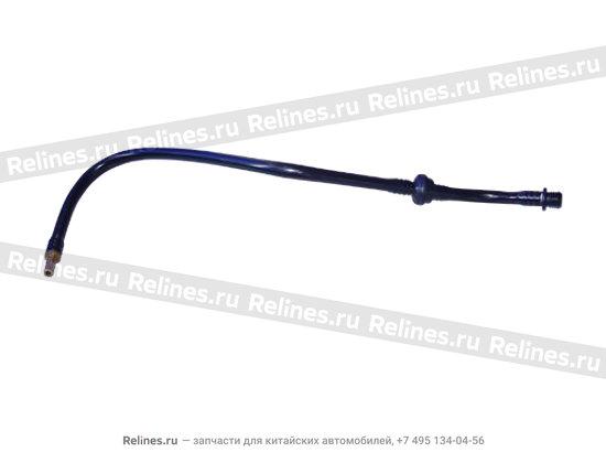 Трубка вакуумного усилителя резин. (bmw1.6 engine)