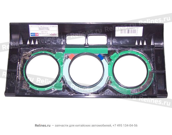 Trim board - a/c control panel