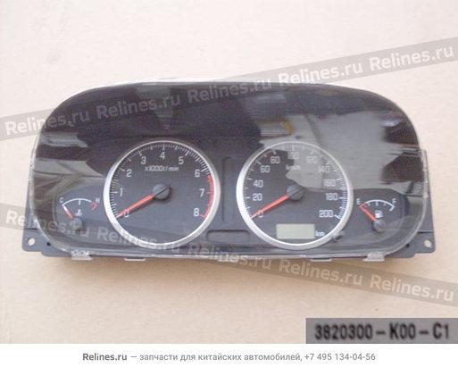Комбинация приборов - 3820300-K00-C1