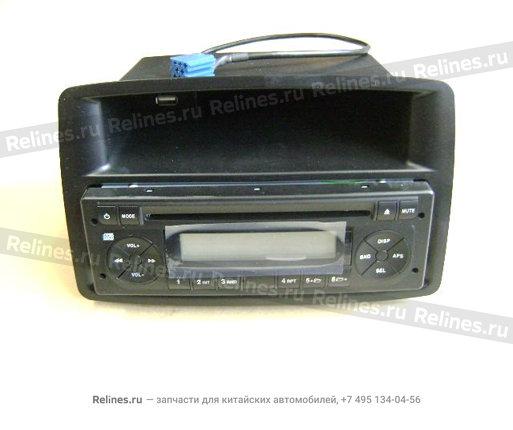 Магнитола CD mp3 с USB разъемом - 7901100-M00B1