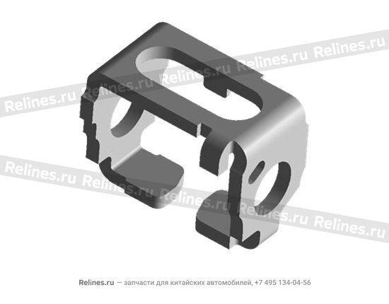 Пластина стопорная штока КПП металл - 015301239aa