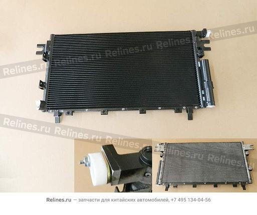 Радиатор кондиционера голый (крепление трубки с торца) - 8105100XK80XC