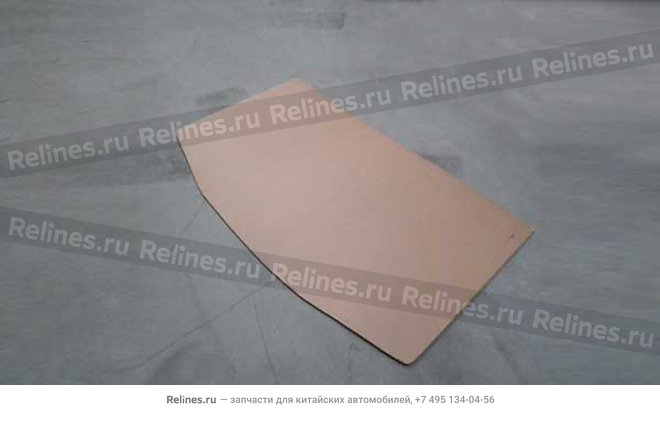 Plate - noise insulation (roof) - A11-5710111
