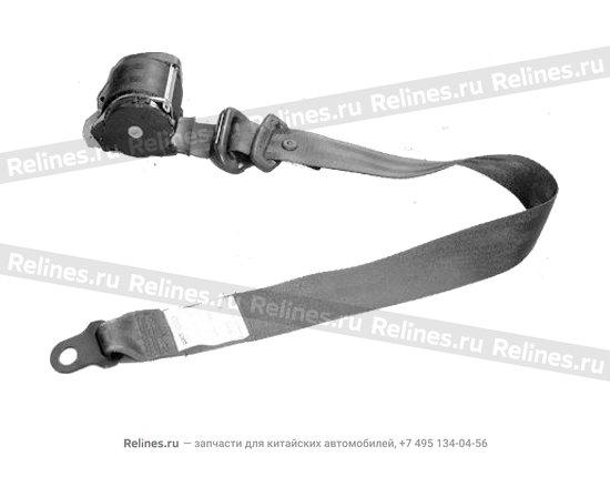 Belt'a' assy - front seat RH