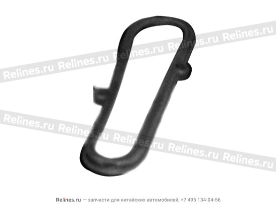 Pad - rubber LH - A11-6102421