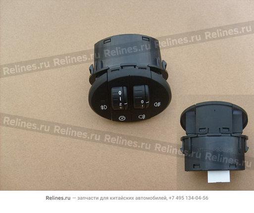 Регулятор корректора фар (новый салон) - 3774400-K80-0089