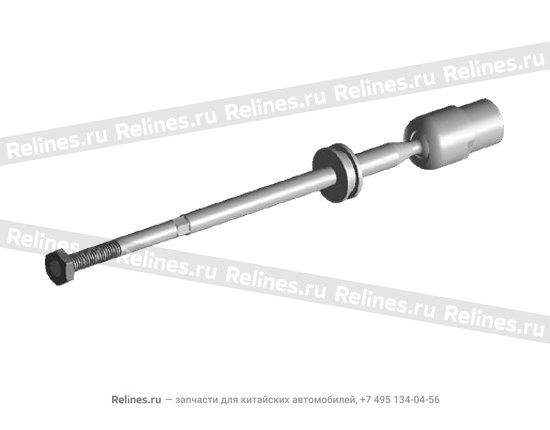 Тяга рулевая без наконечника (мама) - A11-3003010