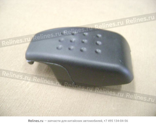 Крючок шторки грузового отсека (черная) - 5402526-K00-0804