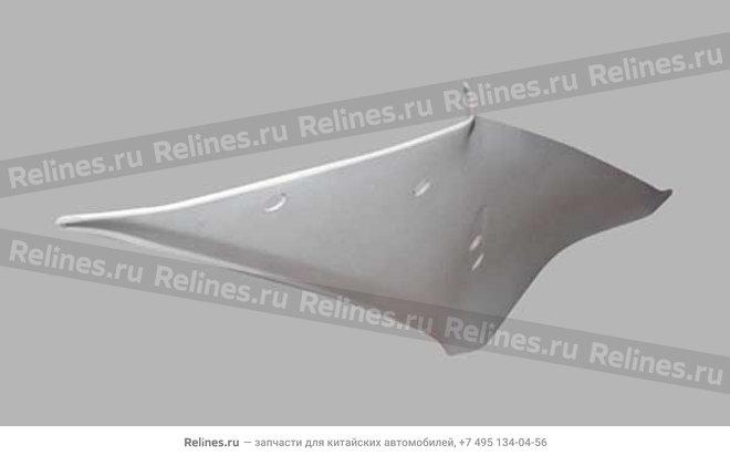 Накладка стойки задней правая (пл) - A15-5402080