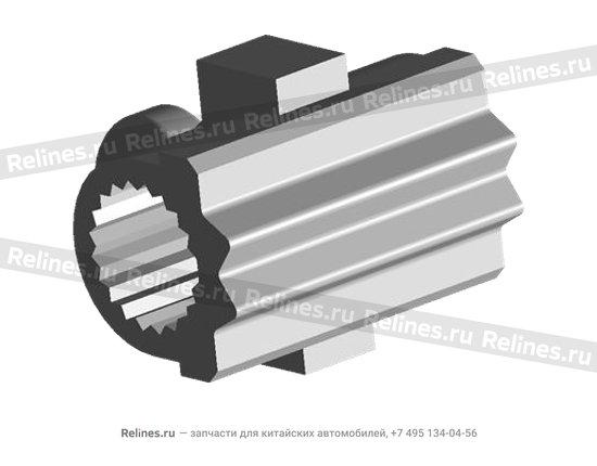 Втулка соединительная металл штока коробки передач (КПП) - 015301238aa