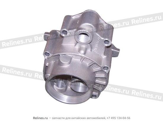 Крышка коробки передач задняя(мет) - 015301211aa