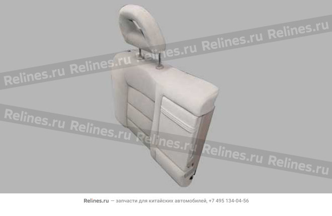 Backrest cushion assy - RR row RH - A15-7005020BC