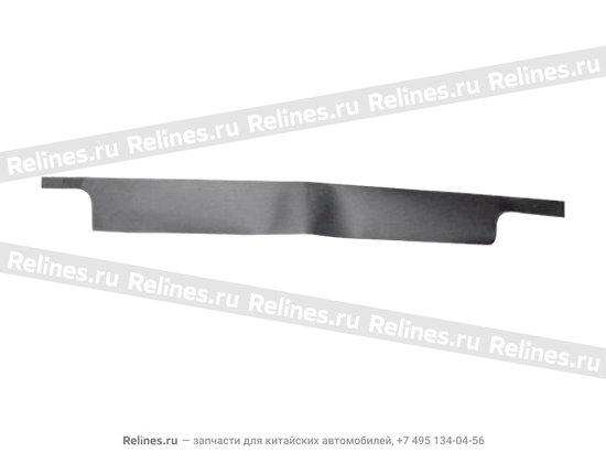 Diaphragm(L),front scuff plate - A11-6102913