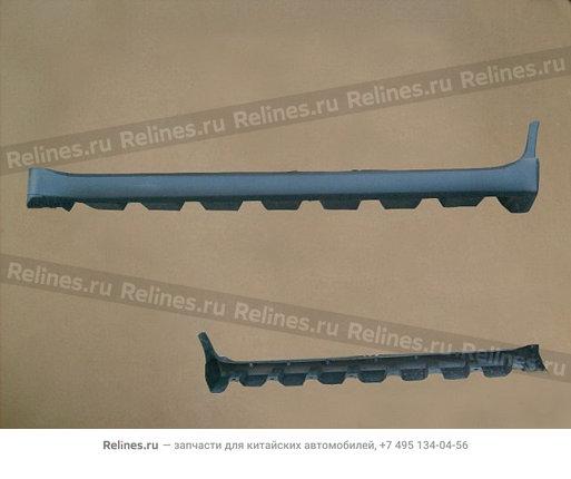 Накладка порога наружняя левая Hover H3 New - 5173103-K46-A1