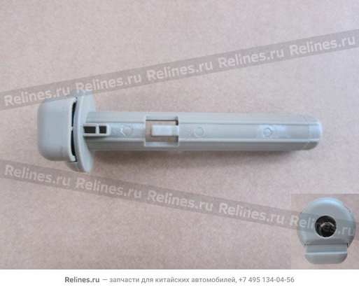 """Изображение продукта """"Conn rub hose-intercooler"""""""