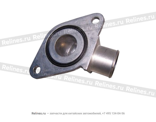 Connecting - inlet water pipe - 04777876ab