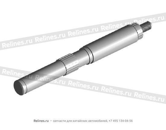 Шток переключения КПП металл - 015301249aa