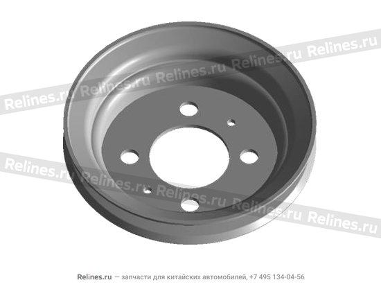 Pulley assy - belt - 480-1005070