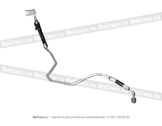 Трубка кондиционера металлическая - A11-8108050BB