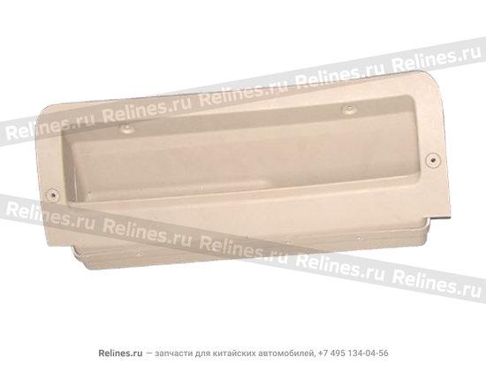 Полка для очков (перчаточный ящик под рулем)